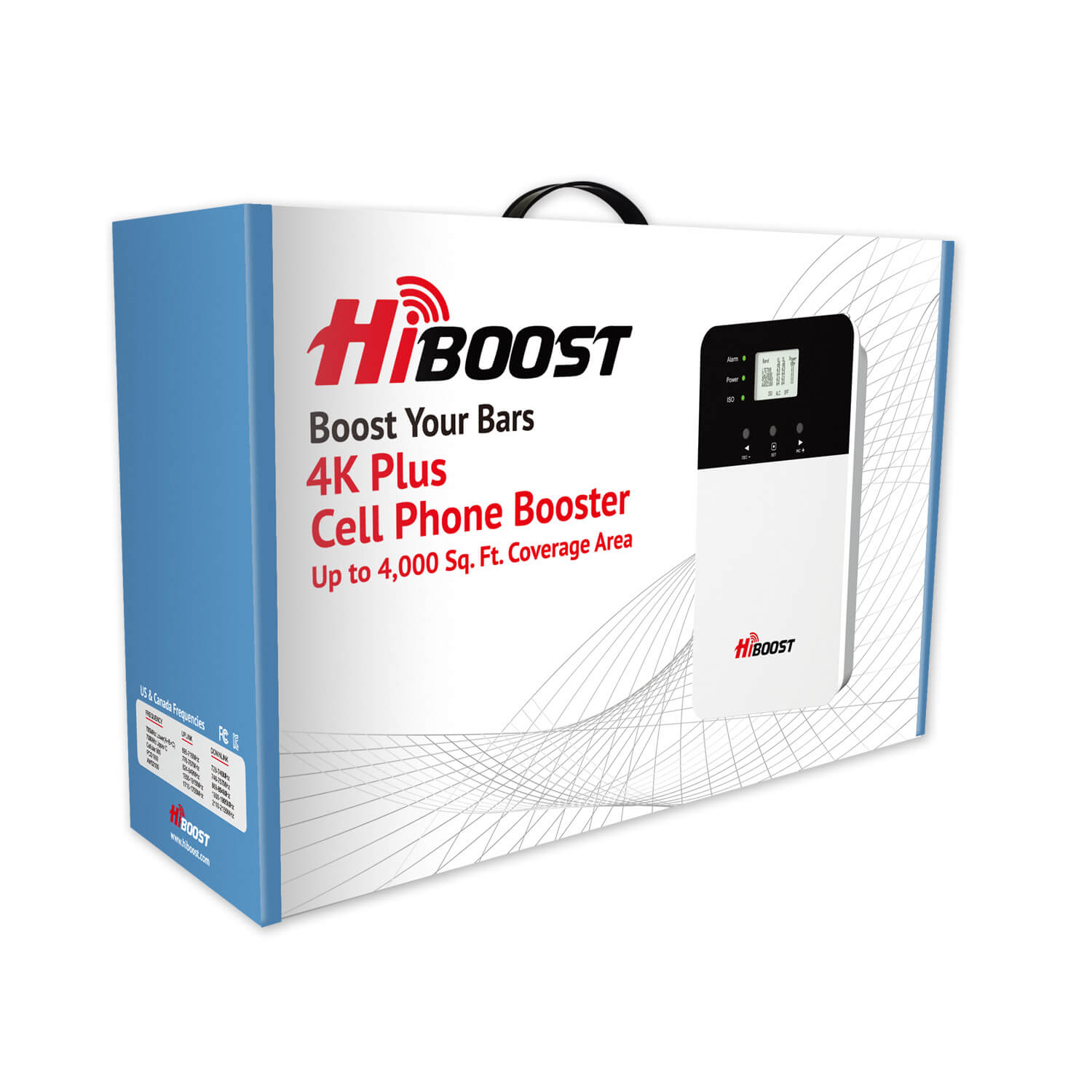 HiBoost 4K Plus Cell Phone Signal Booster