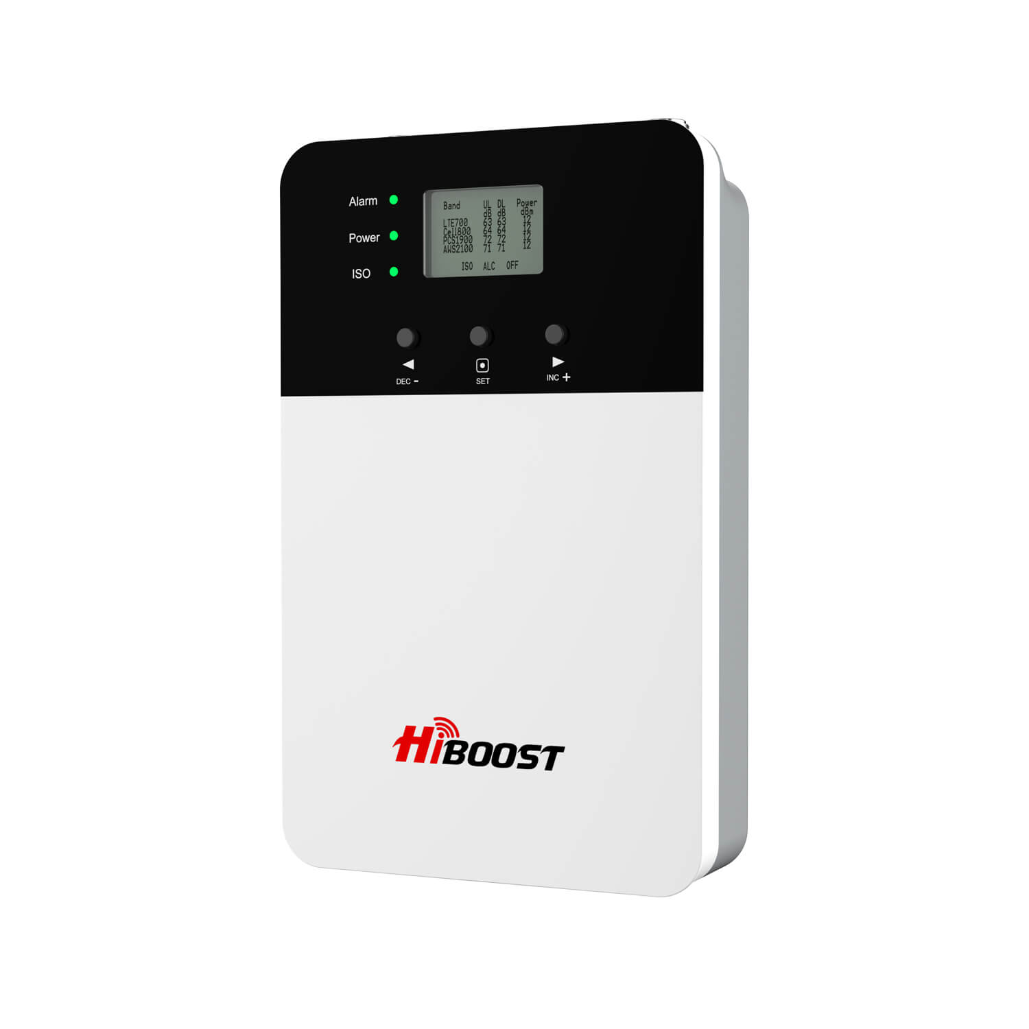 HiBoost Plus Series cell phone signal boosters-front view