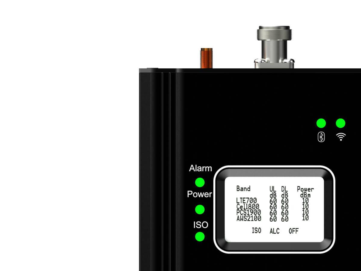 Hiboost-smartlink4k-LCDscreen