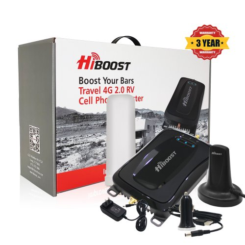 HiBoost 4G-RV Cell Phone Signal Booster-Package