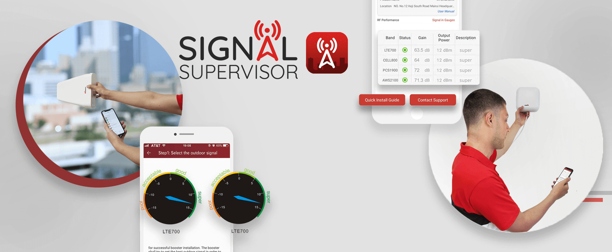 HiBoost Cell Phone Signal Booster-Signal Supervisor1