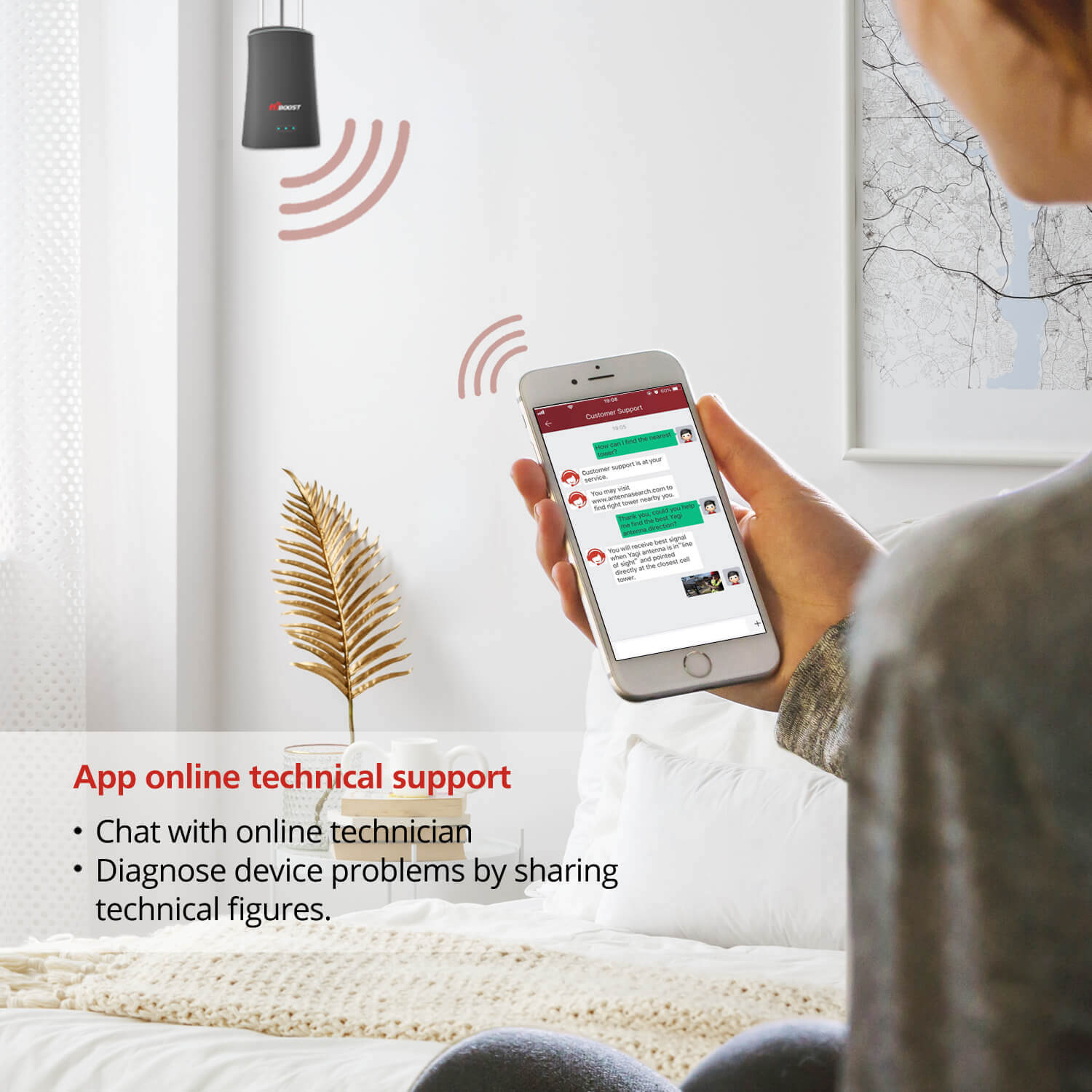 HiBoost Mini cell phone signal booster-Online Support
