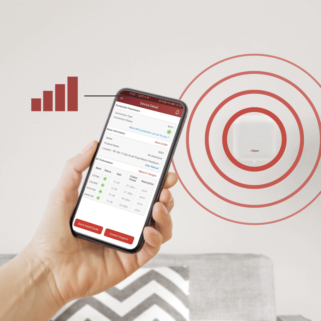 HiBoost Signal Supervisor-Remote Monitoring
