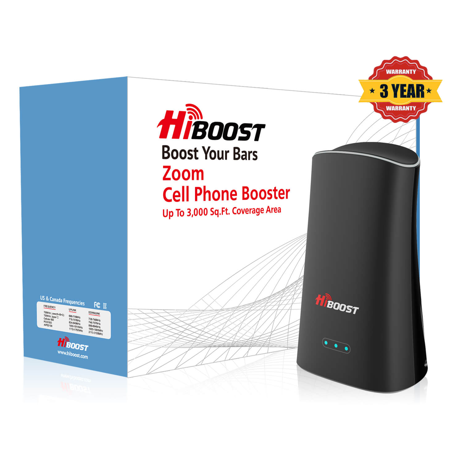 HIBoost Zoom Cell Phone Signal Booster (5)