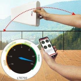 HiBoost-outdoor antenna fine-tune signal