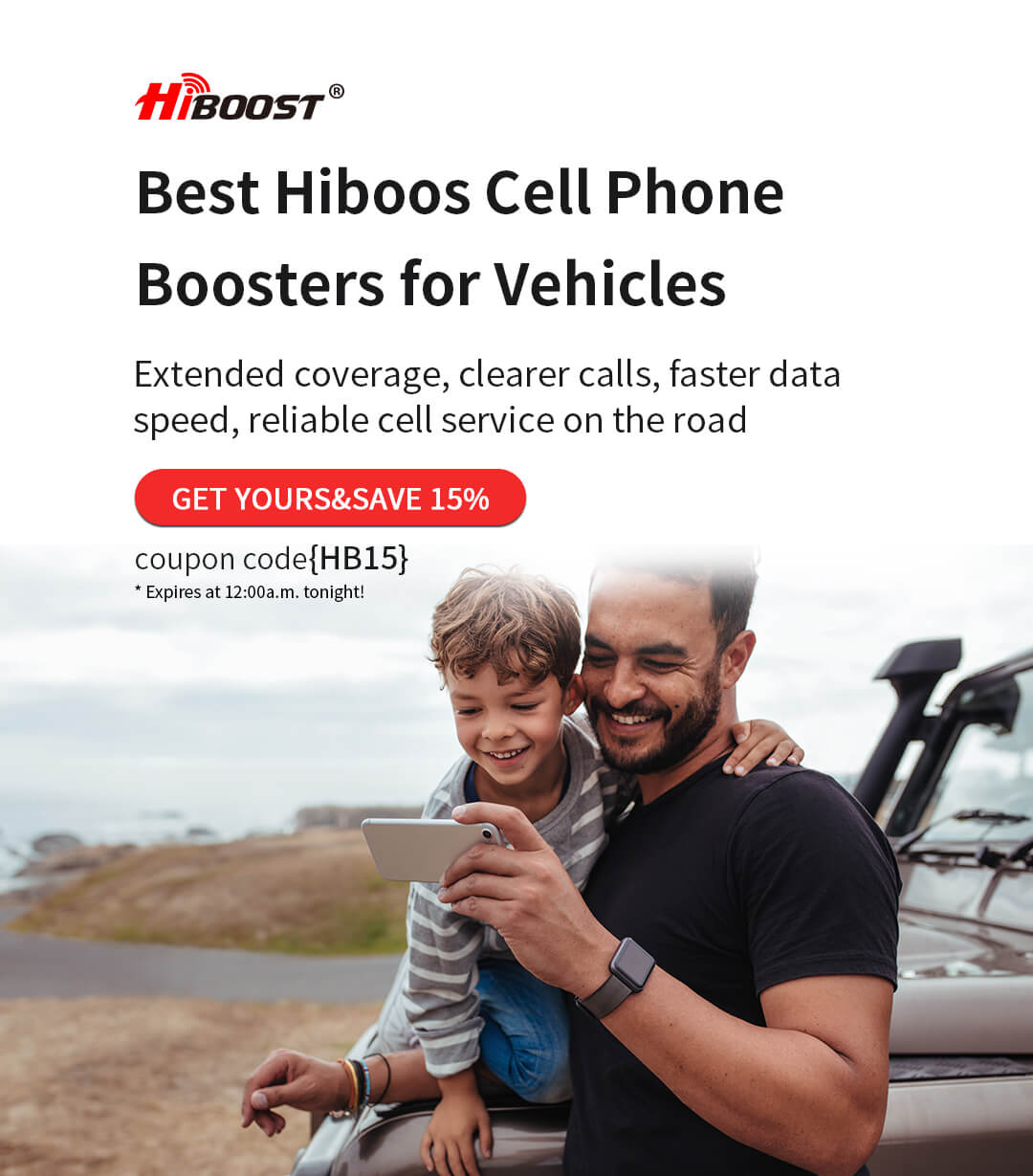 Hiboost-Vehicle-Cell-Phone-Booster-1